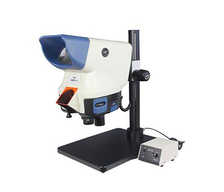 方座式大视场显微镜