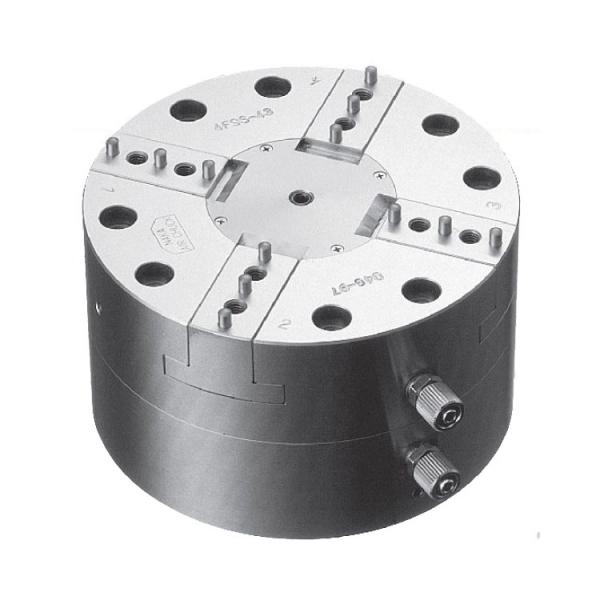 NAKA(仲精机)固定式精密气动卡盘