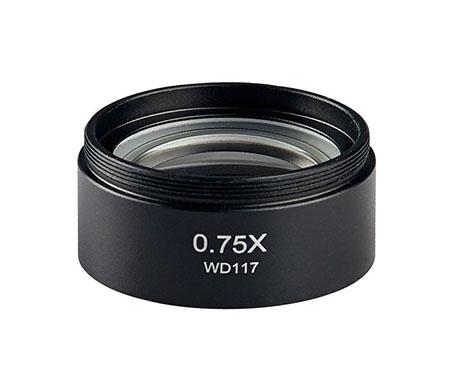 物镜0.75X
