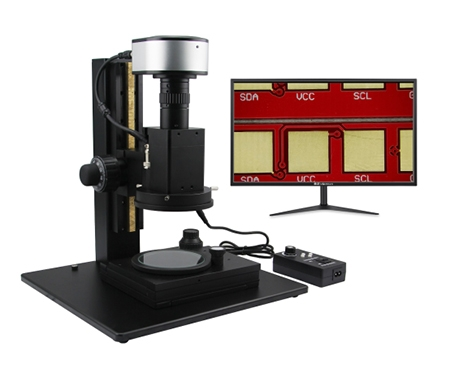 电动变倍智能测量视频显微镜